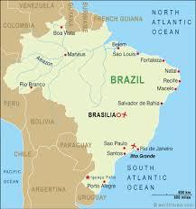 city map of brazil brazil map brazil travel maps from word travels