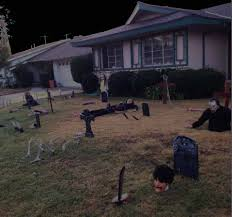 halloween 2013 last minute yard haunt updates hollywood gothique