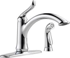 delta faucets kitchen faucet 4453 ar dst in arctic stainless by delta