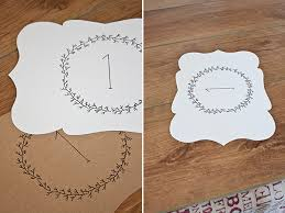 free table number templates free printable wedding escort cards and table numbers fab n free