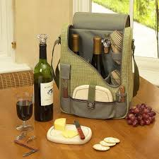 wine picnic baskets wine and cheese cooler picnic backpack gadget flow