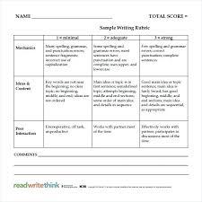 brochure rubric template comfortable rubrics template ideas resume ideas namanasa