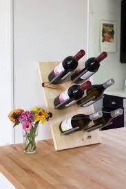 diy modern wine rack