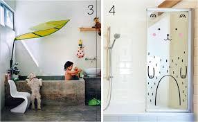 and dad kid friendly bathroom decor always makes bath time more
