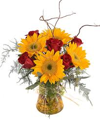 fruit flower arrangements about roses sunflowers bouquet from walter knoll florist
