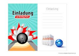 lustige einladungssprüche zum kindergeburtstag einladung kindergeburtstag bowling kegeln kostenlose vorlagen