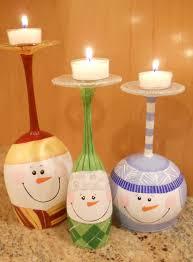 christmas tree wine glasses christmas lights decoration