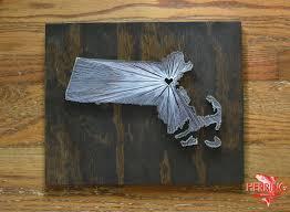 stained massachusetts state string art boston ma