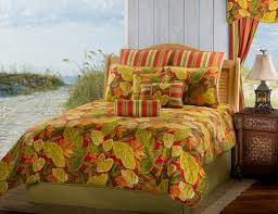 Home And Patio Decor Center Bridgetown Autumn Leaves Bedding By Victor Mill Is Made In Usa And