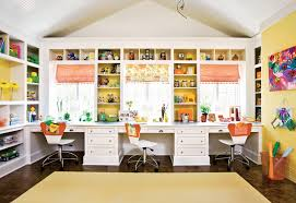 Craft Room For Kids - cool homework spaces for kids cocktails with mom