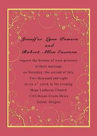 budget pink and yellow flower wedding invitations