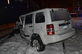 jeep snow tracks ferndale woman escapes jeep after it gets stuck u2014 then struck u2014 on