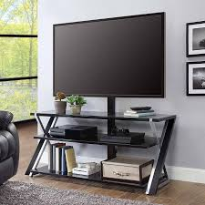 auto raising tv cabinet whalen xavier 3 in 1 tv stand for tvs up to 70 with 3 display