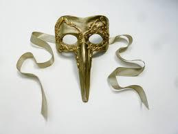 plague doctor masquerade mask plague doctor venetian nose masquerade mask gold for men