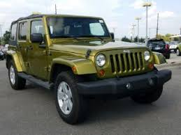 2007 green jeep wrangler green jeep wrangler for sale carmax