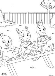 backyardigans coloring pages coloring pages
