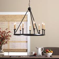 chandelier black dining room light fixtures transitional