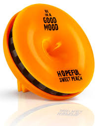 peach car good mood hopeful sweet peach car fragrance 0 52 oz candles
