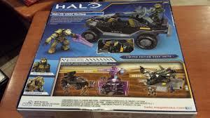 halo warthog mega bloks pax hog halo fest ce unsc warthog mega bloks 99660 new sealed
