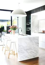 white marble kitchen island marble kitchens pictures modern kitchen decor with charcoal