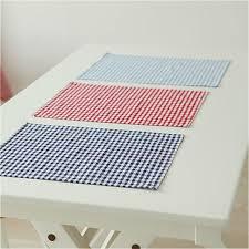 serviette de cuisine coton serviettes en tissu à carreaux napperon 30 40 cm home