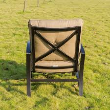 Motion Patio Chairs Barrel Studio Kain Club Motion Patio Chair With Cushion