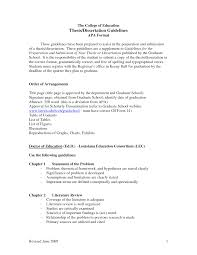 Thesis Theoretical Framework Apa Resume Format