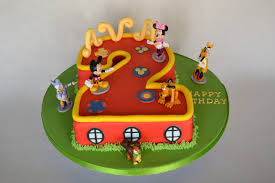 number 2 mickey mouse clubhouse cake celebration cakes cakeology
