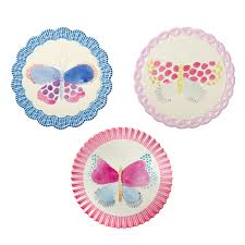 trivet with butterfly prints in ceramic u0026 cork by rice dk