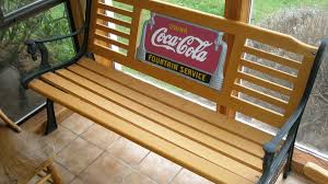 Park Benches For Sale Coca Cola Park Bench Fan Etc Collectors Weekly