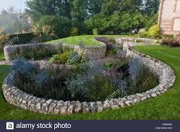 Designer Patio by Contemporary Sunken Garden Stone Walls Retaining Designer Design