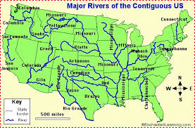 united states map with rivers and mountain ranges us mountain ranges map adventure appalachian mountains