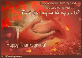 thank your sweetheart on thanksgiving free ecards greeting