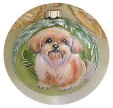 solid pewter ornament i my lhasa apso silver