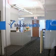 frosted glass office door nyc u0027s axiom signs mobile health dimensional office logo