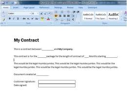 using a word 2003 xml template with sharepoint list data