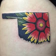 Oklahoma Travel Tattoo images State tattoos popsugar smart living jpg