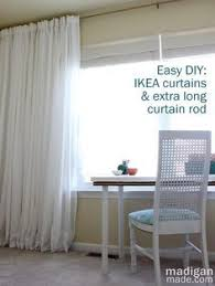 the 25 best extra long curtain rods ideas on pinterest extra