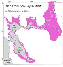 san francisco delta map the san francisco bay and delta an estuary undergoing change