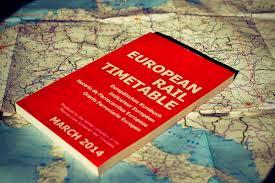 European Rail Map by The European Rail Timetable Train Schedules For Europe Railcc