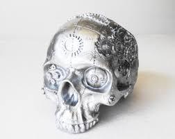 Skull Decor Machine Skull Human Skull Steampunk Steampunk Skull Skulls