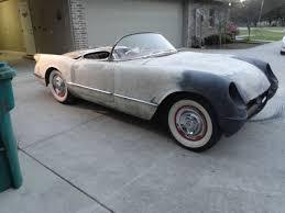 corvette project 1954 corvette project ncrs needs restoration c1 1953 1955 rod