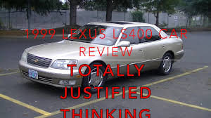 lexus ls400 2001 1999 lexus ls400 car review youtube
