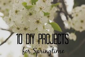 Diy Spring Projects by 10 Diy Projects For Springtime