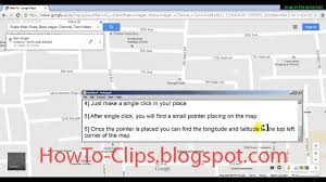 United States Longitude Latitude Map by How To Find Latitude And Longitude For A Place Or Address On A Map