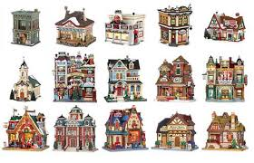 lemax christmas miniature buildings and model houses christmas displays