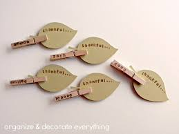 thanksgiving name tags day 3 clothespin place cards organize and decorate everything