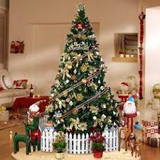 5ft 150cm led fiber optic 170 tips artificial christmas tree