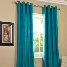 Turquoise Curtains Walmart Curtain Curtains U0026 Window Treatments Walmart Intended For Aqua