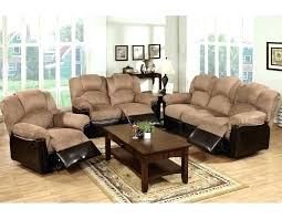 Microfiber Reclining Sofa Sets Microfiber Recliner Sofa Medium Size Of Reclining Sofa Or